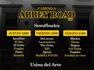 Muy pronto comienzan las semifinales de Camino Abbey Road