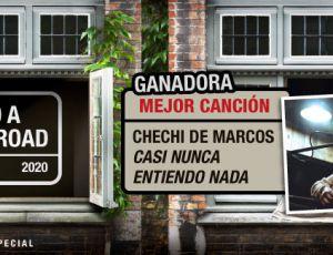 ¡Chechi de Marcos ganó el premio a Mejor Canción de #AbbeyRoadEnCasa!