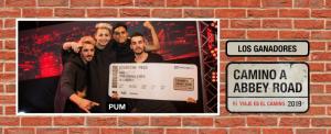 ¡PUM es la banda ganadora de Camino A Abbey Road 2019 y viaja a Londres a grabar su disco!