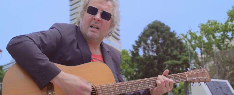 #AcusticosEnLaCiudad: Willy Piancioli en la Torre Monumental de Retiro