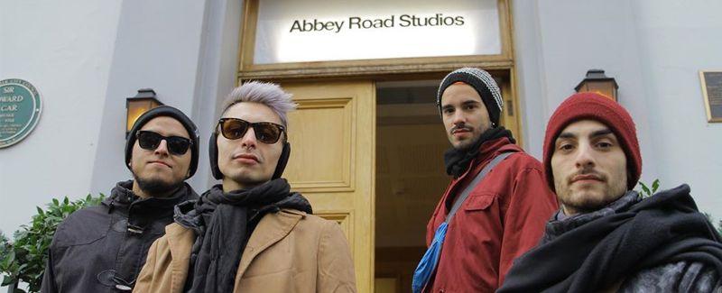 Mirá el documental del paso de PUM por los estudios Abbey Road de Londres