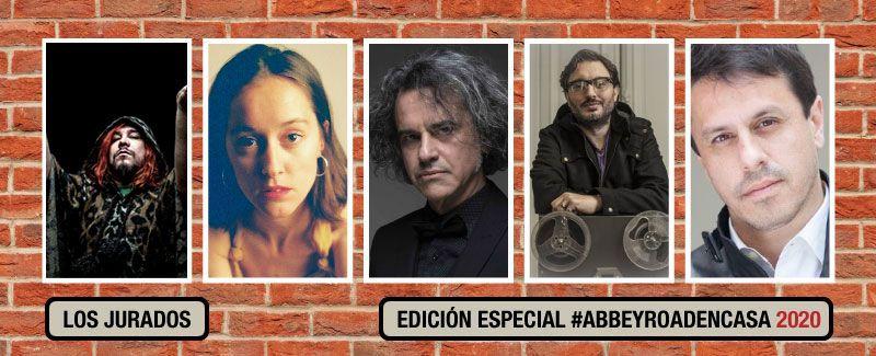 Te presentamos al Jurado de la Edición Especial #AbbeyRoadEnCasa